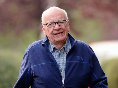 Rupert Murdoch, Chairman and CEO of News Corporation (Kevork Djansezian/Getty Images/AFP)