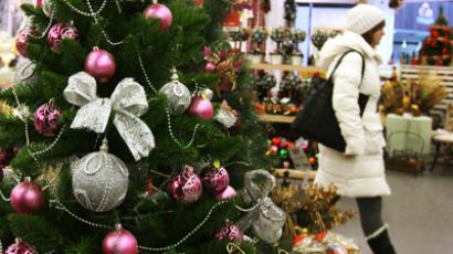 Russians to spend more on New Year and Christmas than last year
