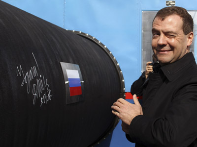 Nord Stream completes the 2nd stage