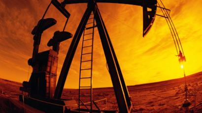 Pumping oil well