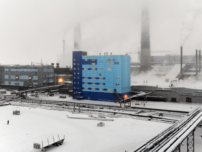 Oligarchs' peace deal sends Norilsk shares up 10%
