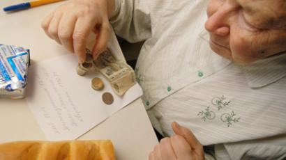 1.3 million Russians on minimum wage, far below poverty line