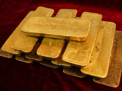 Gold bars (RIA Novosti / Vitaliy Bezrukih)