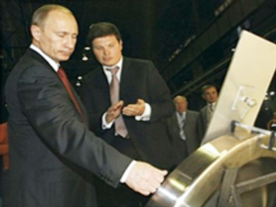 Prime Minister Putin renews criticism of Mechel