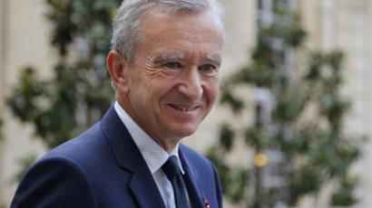 Luxury group LVMH CEO Bernard Arnault  (AFP Photo)