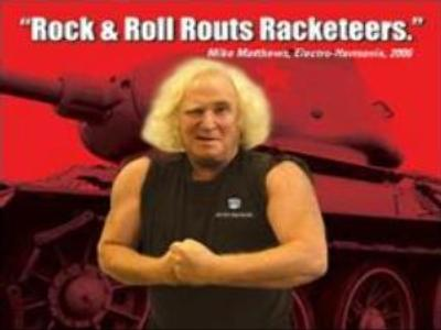 Rocker businessman fights mob-style hostile takeover