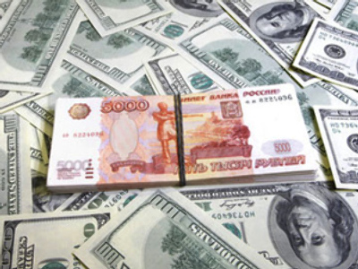 Rouble upside on inflows and crude