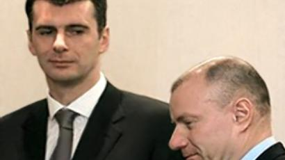 Billionaire Prokhorov ready to head Right Cause party