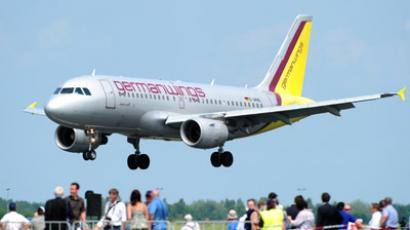 Germanwings airplane (AFP Photo/Johannes Eisele)
