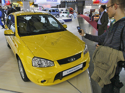 1Q Russian car sales up 77%