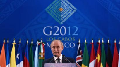 Kremlin to seek 'practical solutions' to fix global economy