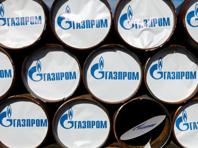 The pipes of the Dzhubga-Lazarevskoye-Sochi gas pipeline. (RIA Novosti / Alexey Kudenko)