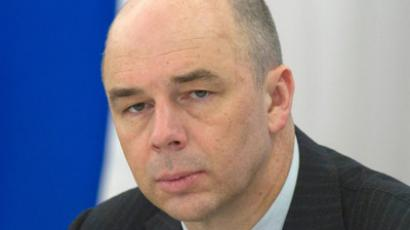 Russian Finance Minister Anton Siluanov talks to RT (RIA Novosti / Sergey Guneev)