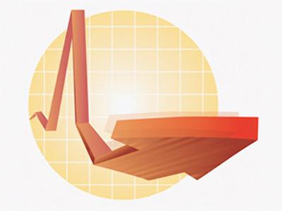 Economic data shows waning rebound