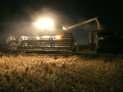 Russia's grain production up pushing prices down