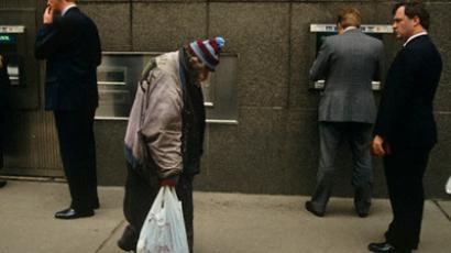 Credit Suisse says that people in Russia are becoming more wealthy, but inequality also grows