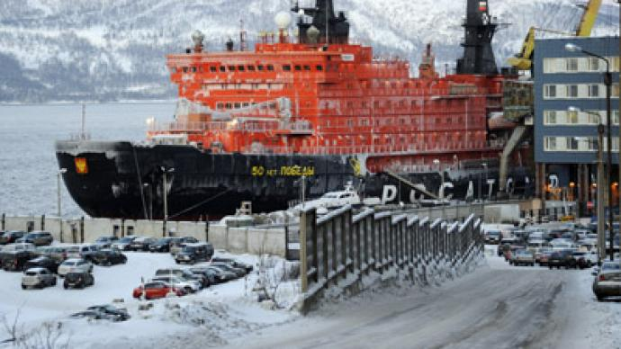 Russia To Build The World S Biggest Icebreaker Rt Business