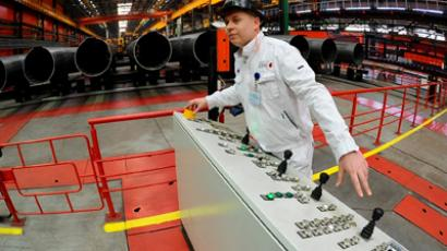 Russia's manufacturing finishes 2012 on a weak footing