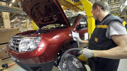 Renault Duster production launches in Moscow (RIA Novosti/Alexey Kudenko)