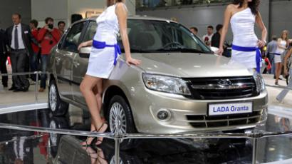 International auto show at Moscow's Crocus Expo exhibition center (RIA Novosti/Vladimir Pesnya)