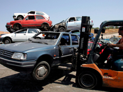 Russian cash for clunkers launches in March