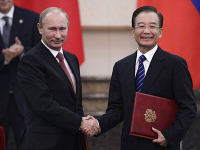 Prime Minister Putin's Chinese visit to boost business ties