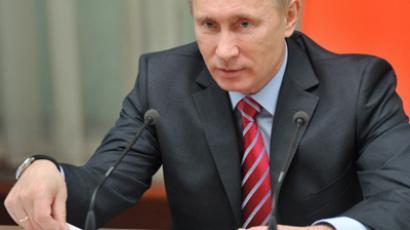 Vladimir Putin (RIA Novosti / Aleksey Nikolsky)