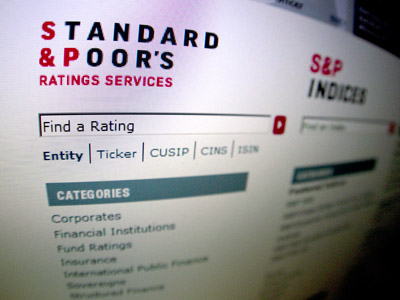 US regulators probe S&P over rating violations