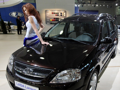 Car sales drive Russian imports up