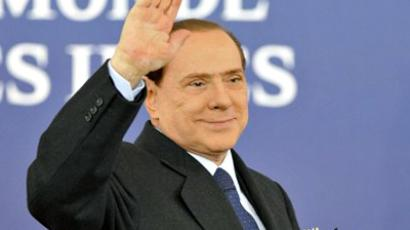 France, Cannes: Italy's Prime Minister Silvio Berlusconi.(AFP Photo / Eric Feferberg)