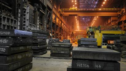 Russian metals companies leave Europe as crisis bites