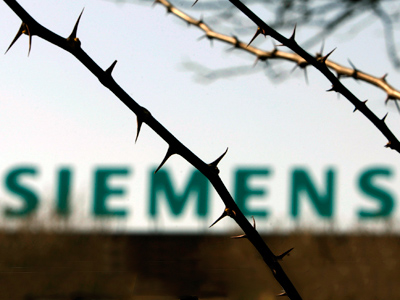 Siemens will pay for corrupt practices in Greece