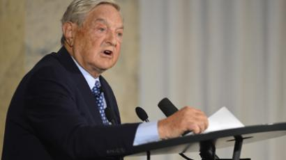 US billionaire George Soros (AFP Photo / Odd Andersen)