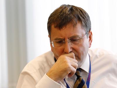 Tesco CEO Philip Clarke (Reuters/Suzanne Plunkett)