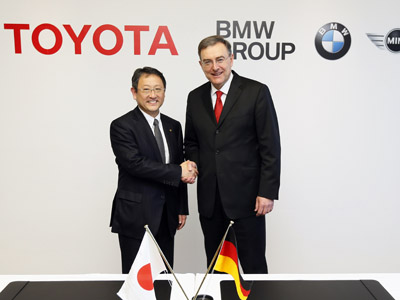 Toyota and BMW to jointly develop fuel-cell vehicles and sports car