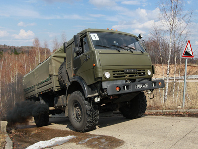 Russian truck maker Kamaz to rival European producers