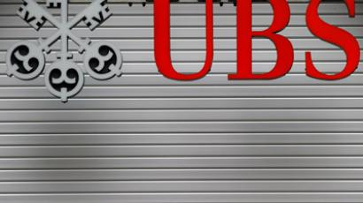 A logo of the Swiss banking giant UBS (AFP Photo/Fabrice Cofrini)