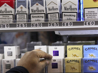 Illegal ciggies and spirits cost Britain more than 28 billions