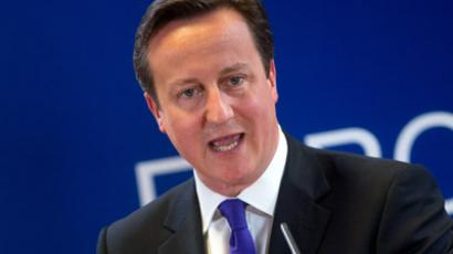 British Prime Minister David Cameron (AFP Photo/Bertrand Langlois)