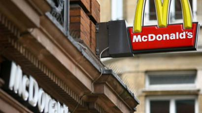 McDonald's restaurant ruled a grocery shop in Russia