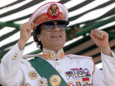 Gaddafi spirit lives on...in booze
