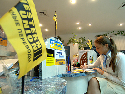 Western Union sees Russian profit slump with falling market share