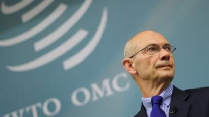 WTO Director-General Pascal Lamy (AFP Photo / Fabrice Coffrini)