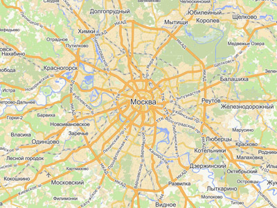 Moscow City to ditch Yandex and Google to map itself