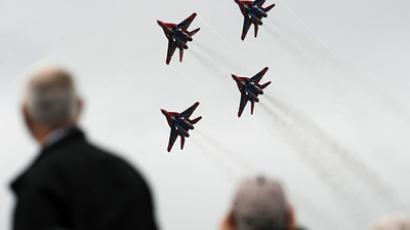 Aerobatic team Strizhi (RIA Novosti / STF)
