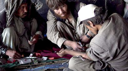 Heroin addicts in Afghanistan. (Photo by Ilya Varlamov)