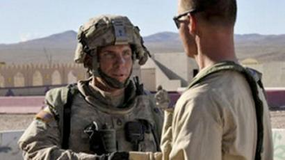 Staff Sgt. Robert Bales (L) at the National Training Center in Fort Irwin, California (AFP Photo / DVIDS / Spc. Ryan Hallock)