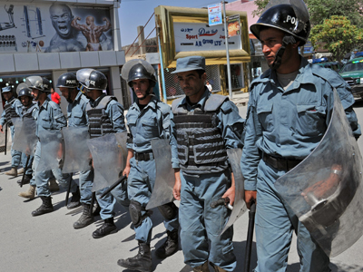 Man posing as Afghan policeman kills 11 officers