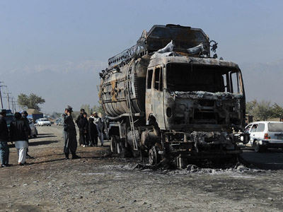 Children among 51 dead in collision between bus and truck in Afghanistan