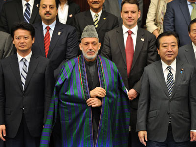 Afghan pay day: Tokyo conference pledges $16 bln in aid